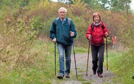 Wpływ nordic walking na sprawność fizyczną osób starszych