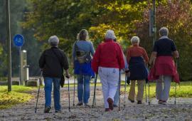 Nordic walking w drugiej połowie życia
