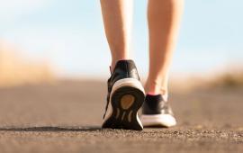 Parametry biomechaniczne kończyn dolnych podczas naturalnego chodzenia i nordic walking z różnymi prędkościami.